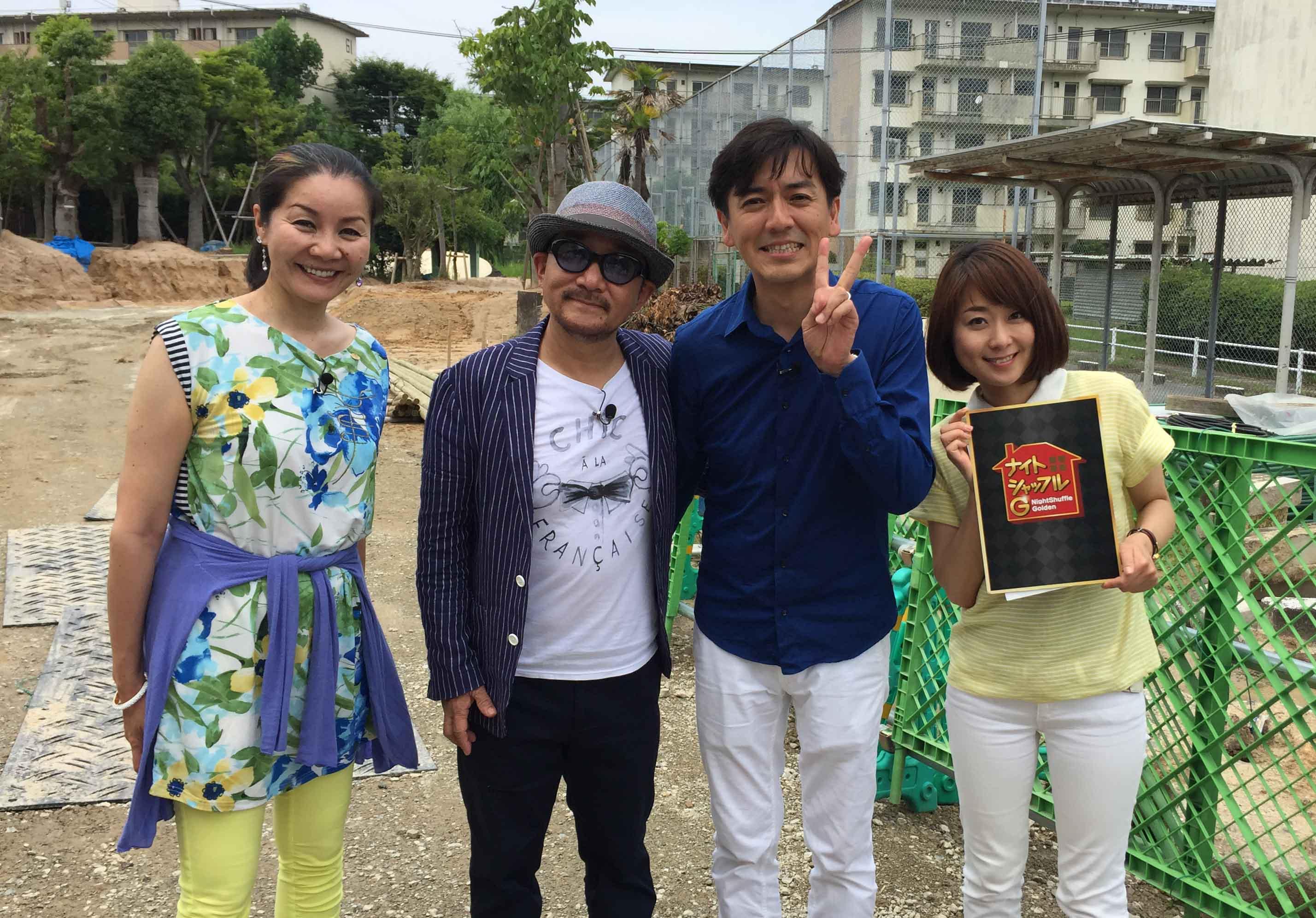 FBS福岡放送「ナイトシャッフル」明日O.A!