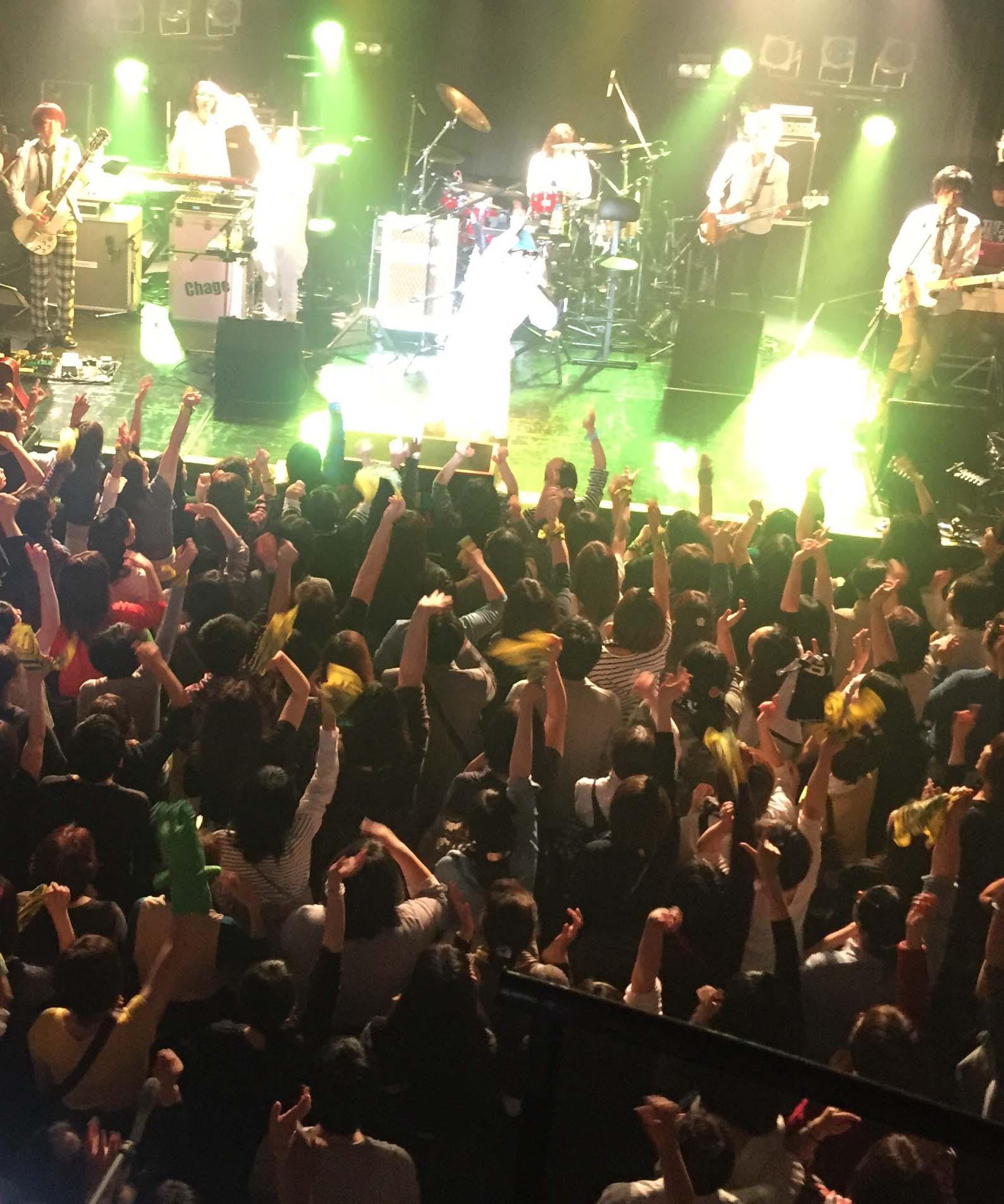 『Chage Live Tour 2015 〜天使がくれたハンマー〜』札幌公演終了!