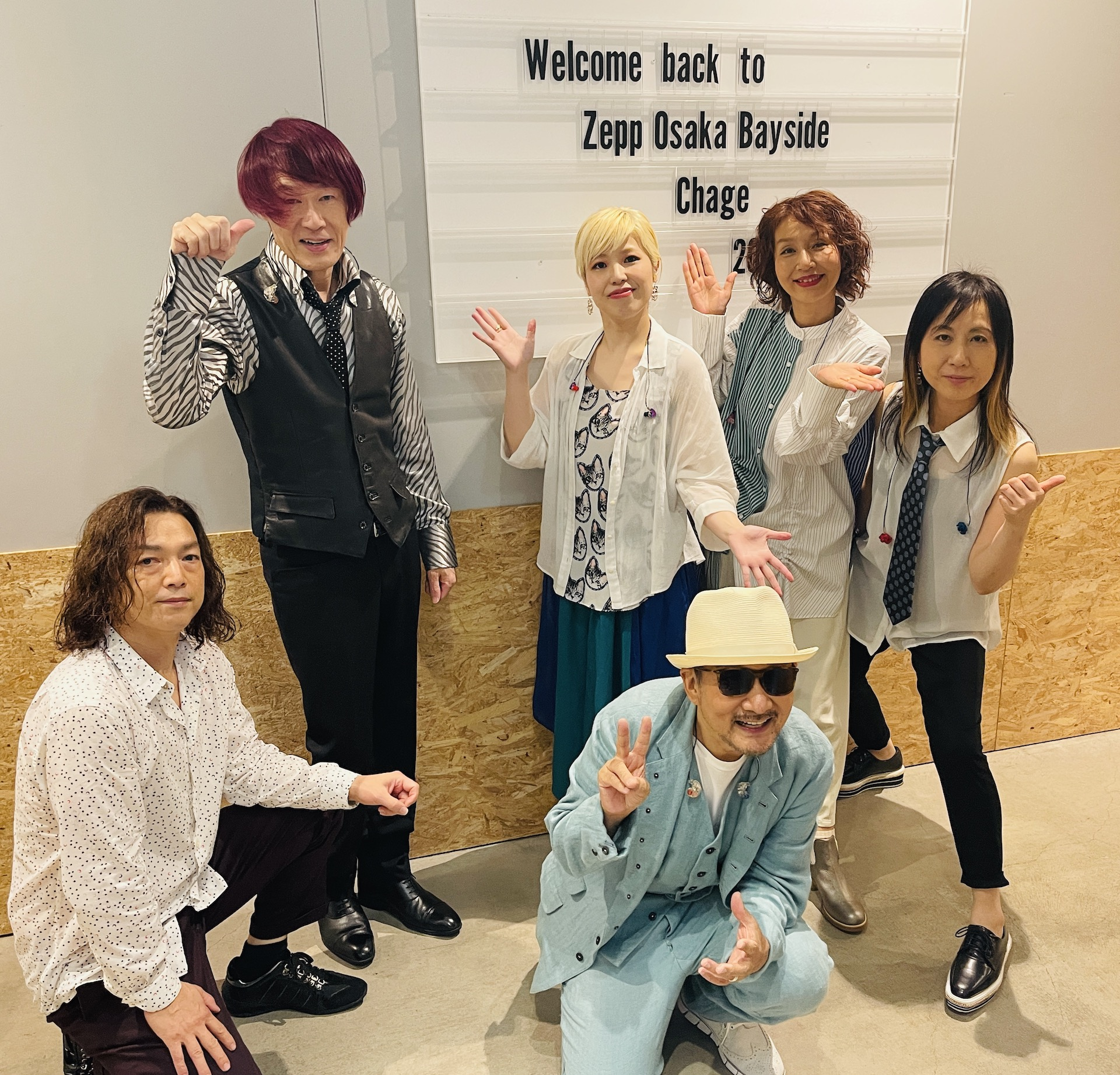 「Chage Live Tour 2021〜Boot up!!〜」Tour完走!